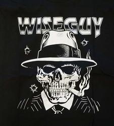 """T-shirt """"  Wiseguy """"  Zwart"""