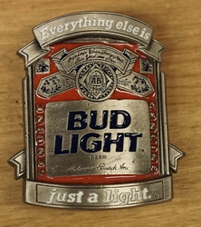 "Losse gesp  "" Bud light """