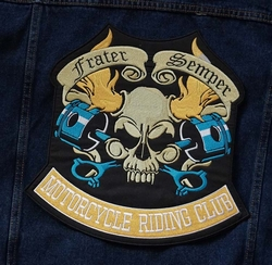 "Applicatie  "" Frater semper motorcylce ricking club """