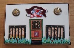 Decoratie western gevangenis