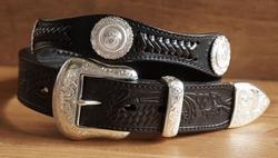 Sterling zilver western riem