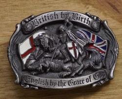 """Gesp """"  Als Brit geboren, Engelsman door Godsgenade """""""