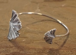 Zilveren klemarmband