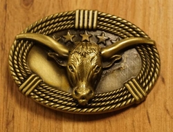 "Buckle / gesp  "" Texas ""  Skull  UITVERKOCHT"