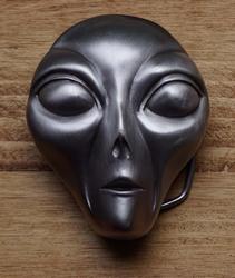 "Buckle / gesp  "" Alien gezicht """