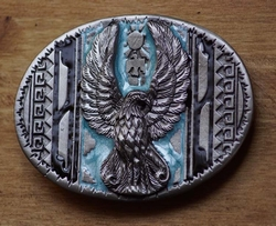 "Siergesp  "" Adelaar opstaande vleugels ""  Publo art"
