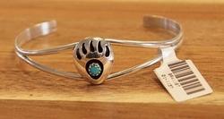 Indiaanse sterling zilveren klemarmband