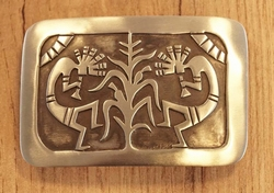 Sterling zilveren indianen buckle