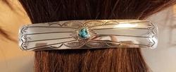 Sterling zilveren haarclip