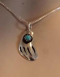 Sterling zilveren indiaanse hanger