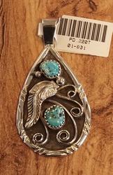 Sterling zilveren  hanger