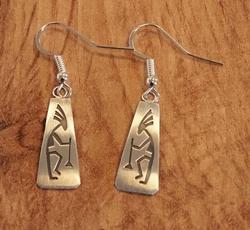 Sterling zilveren indiaanse oorhangers