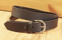 3 cm brede buckle riem met gesp