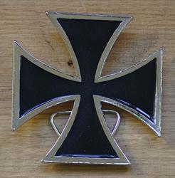 """Buckle / gesp """" Gothic teken / Maltezer kruis """"  UITVERKOCHT"""