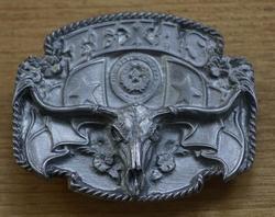 """Riemgesp  """" Texas """"  Skull  UITVERKOCHT"""