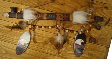 Indianen decoraties