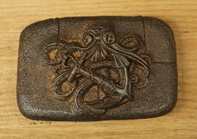 Old copper look buckles