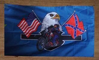 Adelaars vlaggen